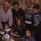 Cesc Fàbregas, Daniella Semaan y su hija Lia celebran Hallowen 2014