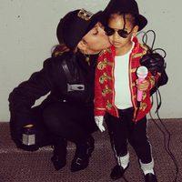 Beyoncé y Blue Ivy se disfrazan de Janet y Michael Jackson por Halloween