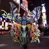 Heidi Klum en Times Square antes de su fiesta de Halloween 2014