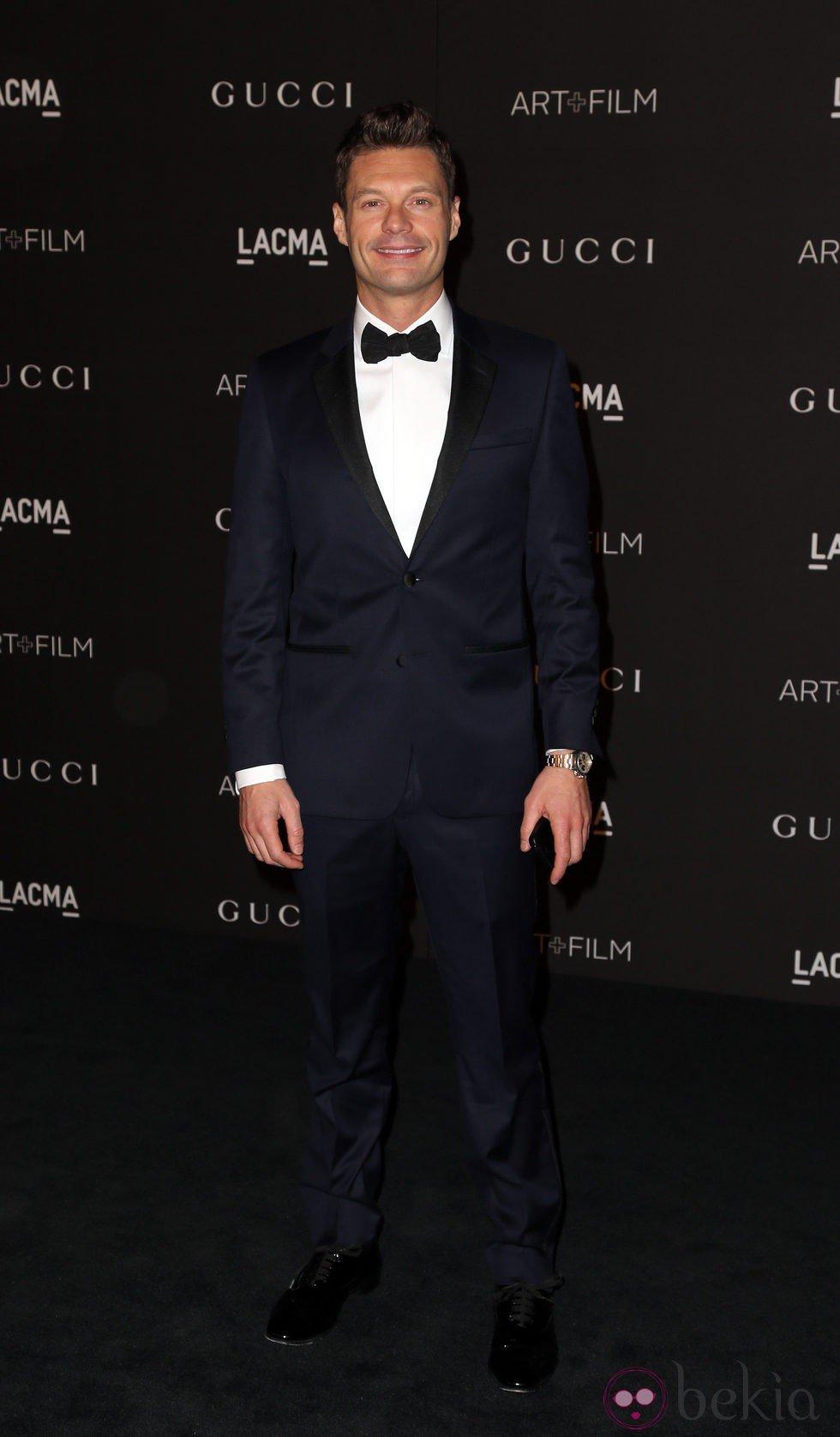 Ryan Seacrest en la gala LACMA Art + FIlm 2014