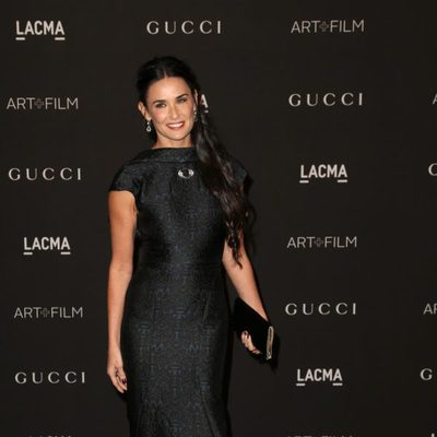 Demi Moore en la gala LACMA Art + FIlm 2014