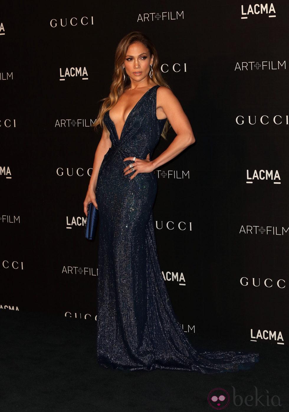 Jennifer Lopez en la gala LACMA Art + FIlm 2014