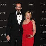Eric White y Patricia Arquette en la gala LACMA Art + FIlm 2014