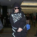 Khloe Kardashian, un esqueleto en Halloween 2014