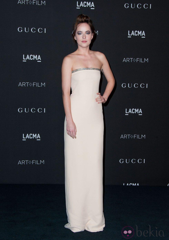 Dakota Johnson en la gala LACMA Art + FIlm 2014