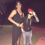 Kaley Cuoco y su marido Ryan Sweeting disfrazados de Selena Gomez y Justin Bieber en Halloween