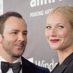 Tom Ford y Gwyneth Paltrow en la gala 'amfAR' de Los Ángeles