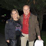 Carmen Borrego celebra su 47 cumpleaños con su marido José Carlos Bernal