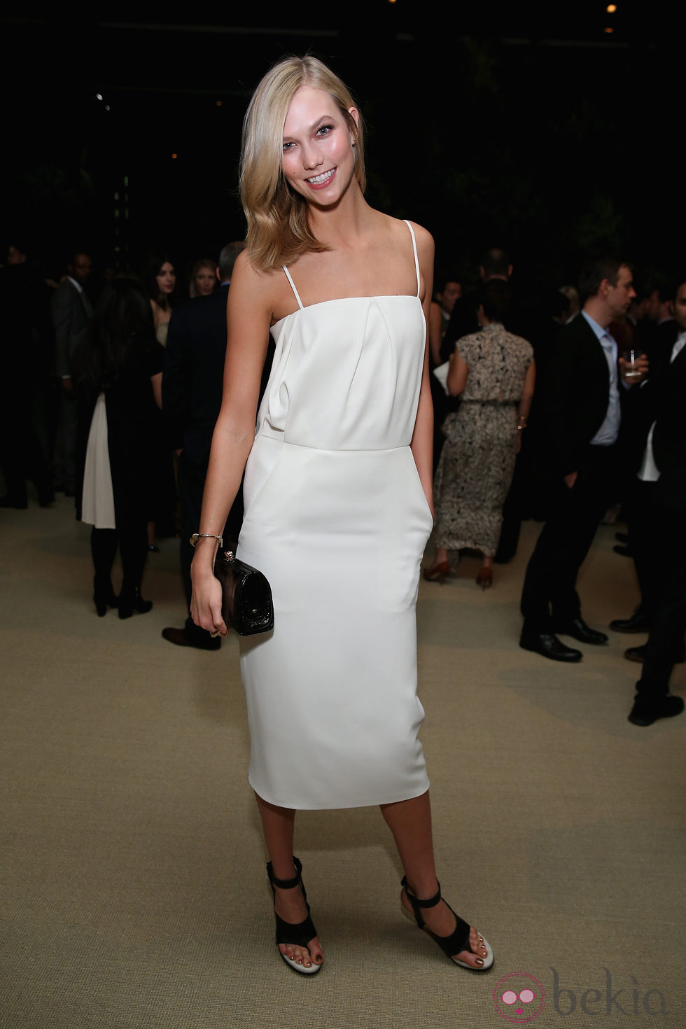 Karlie Kloss en la entrega de los CFDA 2014 / Vogue Fashion Fund