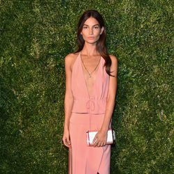 Lily Aldridge en la entrega de los CFDA 2014 / Vogue Fashion Fund