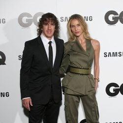 Carles Puyol y Vanesa Lorenzo en los Premios GQ 2014