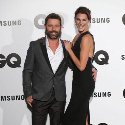 David Ascanio y Laura Sánchez en los Premios GQ 2014