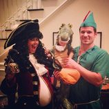 Vanessa, Nick y Camden Lachey celebran Halloween