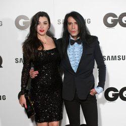 Marta y Mario Vaquerizo en los Premios GQ 2014