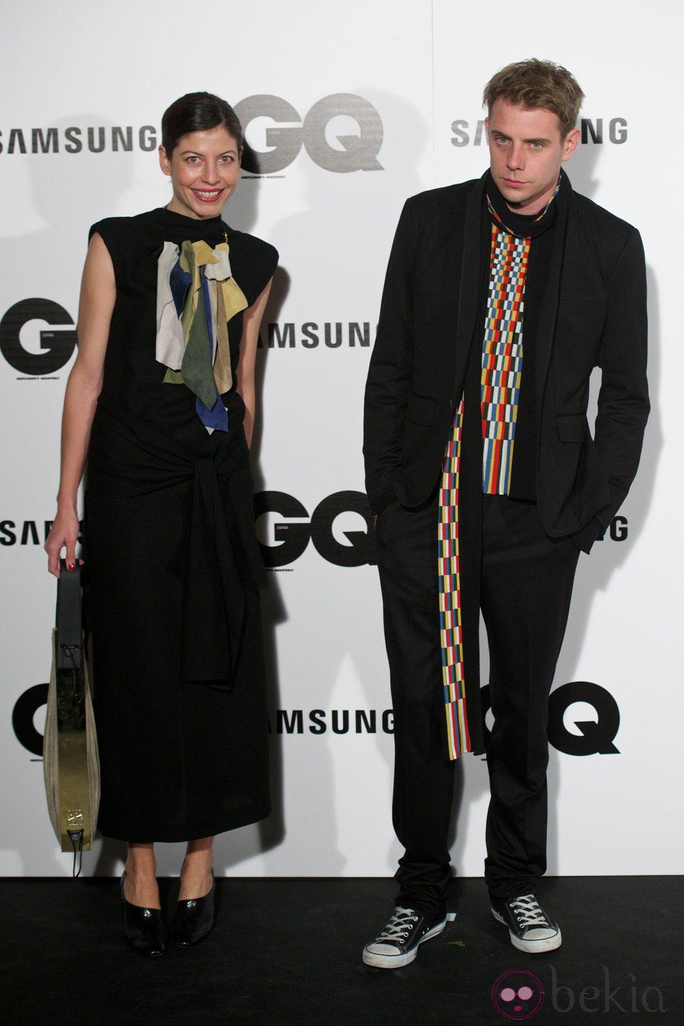 Jonathan W Anderson en los Premios GQ 2014