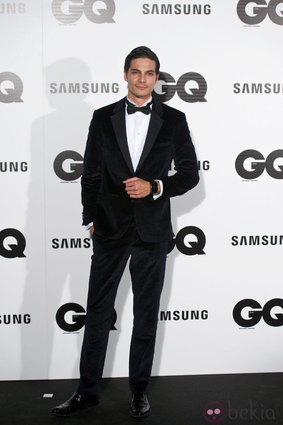 Javier de Miguel en los Premios GQ 2014