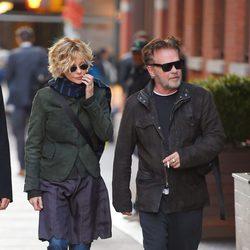 Meg Ryan y John Mellencamp pasean su amor por Nueva York