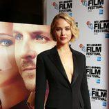 Jennifer Lawrence en la presentación de 'Serena' en el festival de cine de Londres