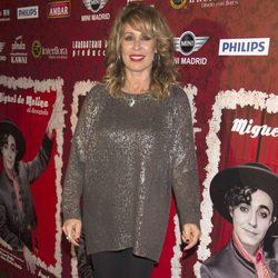 Miriam Díaz Aroca en el estreno de 'Miguel de Molina al desnudo'