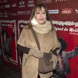 Massiel en el estreno de 'Miguel de Molina al desnudo'