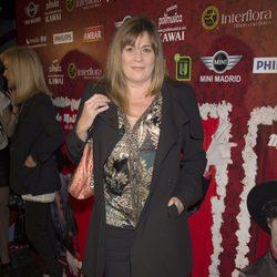 Marta Valverde en el estreno de 'Miguel de Molina al desnudo'