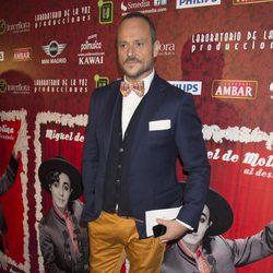 Nacho Montes en el estreno de 'Miguel de Molina al desnudo'