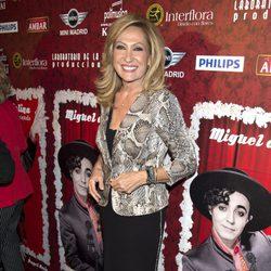 Rosa Benito en el estreno de 'Miguel de Molina al desnudo'