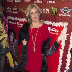 Lydia Lozano en el estreno de 'Miguel de Molina al desnudo'