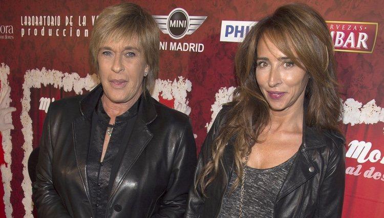 Chelo García Cortés y María Patiño en el estreno de 'Miguel de Molina al desnudo'