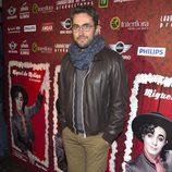 Màxim Huerta en el estreno de 'Miguel de Molina al desnudo'
