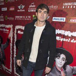 Daniel Muriel en el estreno de 'Miguel de Molina al desnudo'