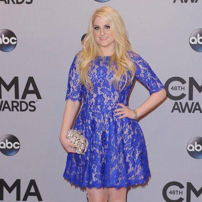 Meghan Trainor en los premios CMA Awards 2014