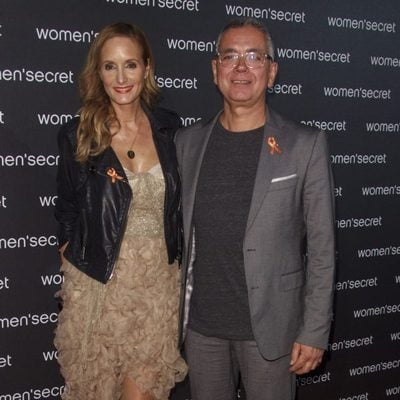 Juan Ramón Lucas y Sandra Ibarra en el estreno del Fashion Film 'Dark Seduction' de Women'secret?