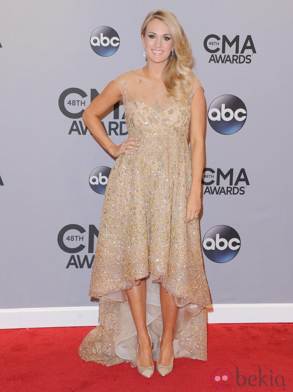 Carrie Underwood en los premios CMA Awards 2014