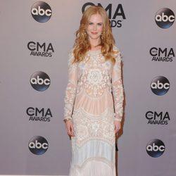 Nicole Kidman en la entrega de los premios CMA Awards 2014