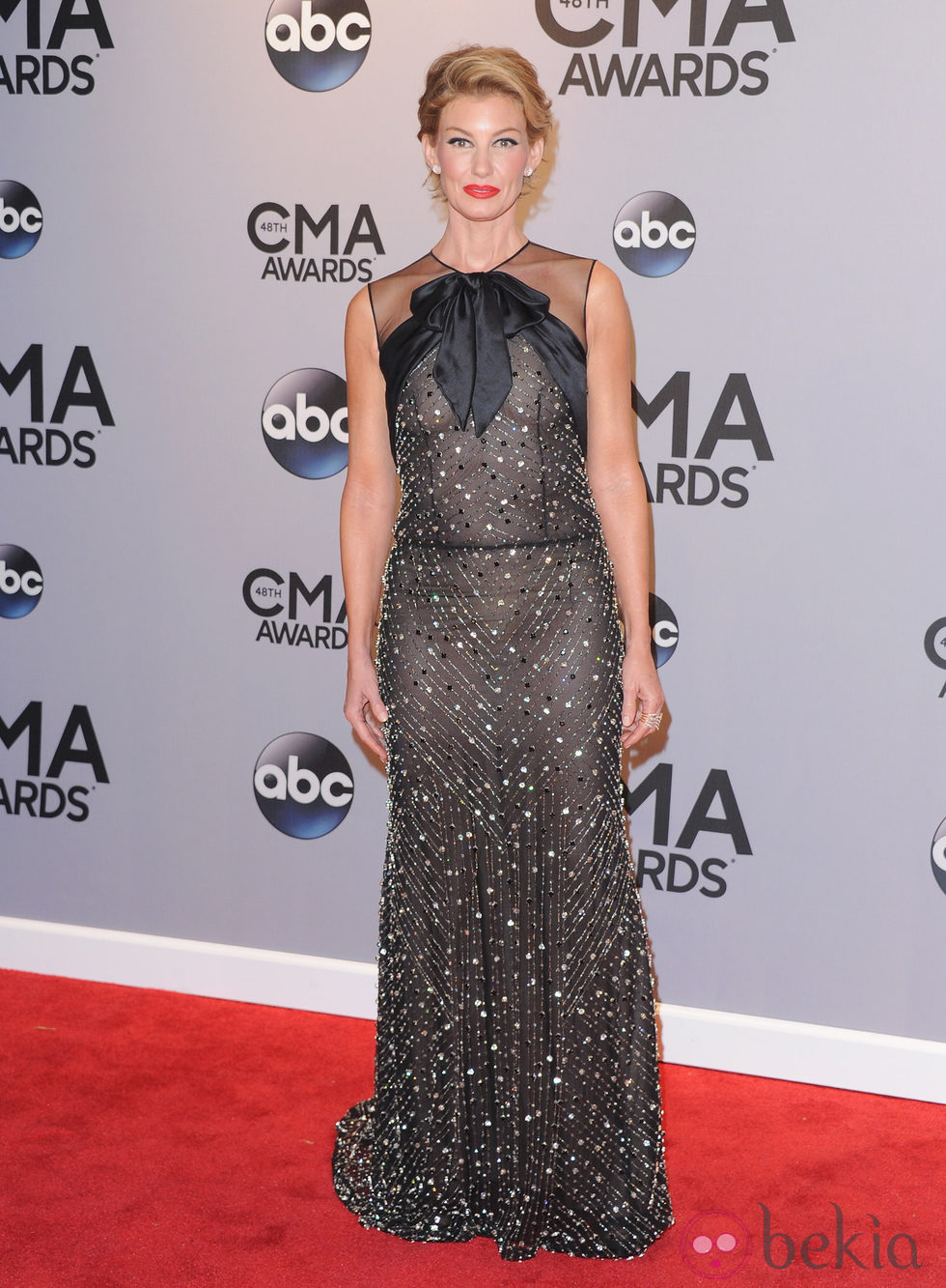 Faith Hill  en la entrega de los premios CMA Awards 2014