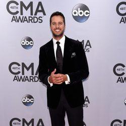 Luke Bryan en la entrega de los premios CMA Awards 2014