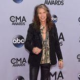 Steven Tyler en la entrega de los premios CMA Awards 2014