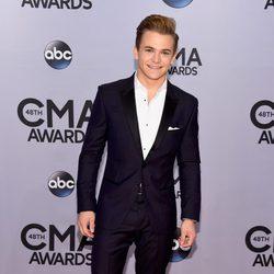 Hunter Hayes en la entrega de los premios CMA Awards 2014