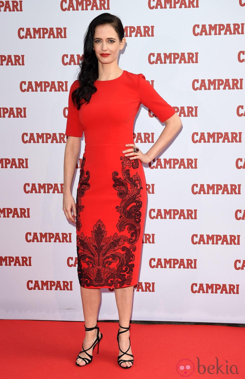 Eva Green en la presentación del Calendario Campari 2015