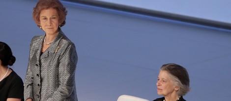 La Reina Sofía e Irene de Grecia en la entrega del Premio BMW de Pintura 2014