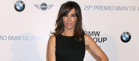 Paloma Lago en la entrega del Premio BMW de Pintura 2014