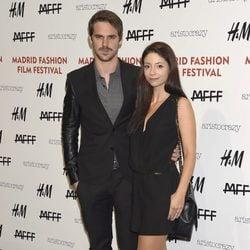 Gonzalo Ramos y Sofía Escobar en el Fashion Film Festival 2014
