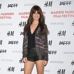 Alicia Sanz en el Fashion Film Festival 2014