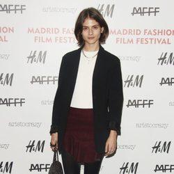 Alba Galocha en el Fashion Film Festival 2014