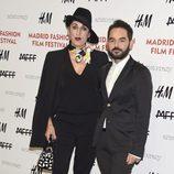 Rossy de Palma y José Murciano en el Fashion Film Festival 2014