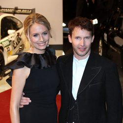 James Blunt y Sofia Wellesley en la entrega de premios GQ en Berlín