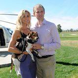 Eric Trump y su mujer Lara Yunaska