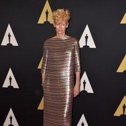 Tilda Swinton en los 'Premios Governors' 2014