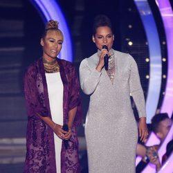 Emeli Sandé y Alicia Keys en los MTV EMA 2014